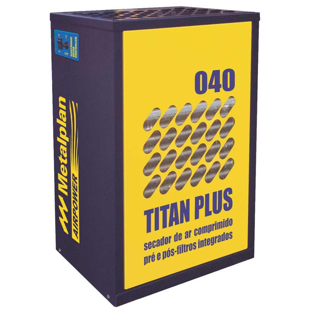 Secador de Ar Comprimido Titan Plus 40 - 40 pcm 220V Monofásico Metalplan