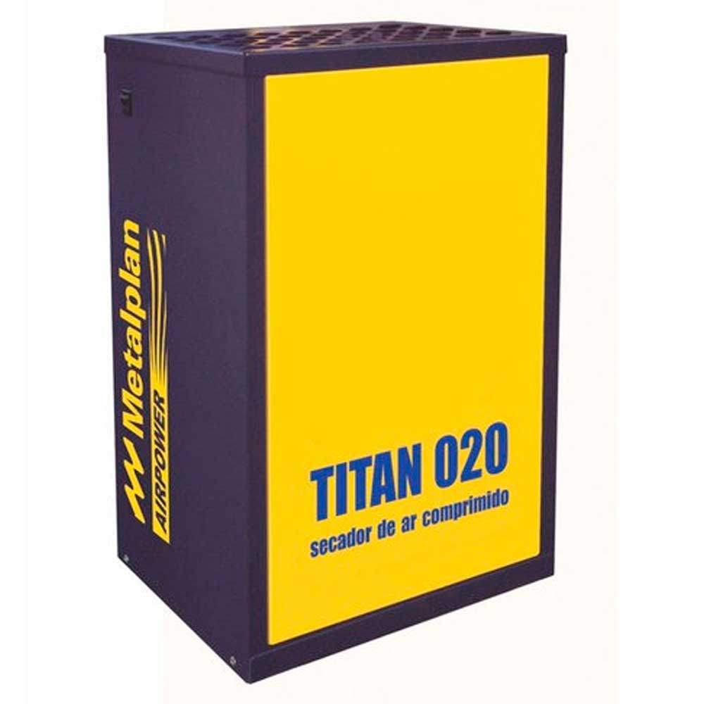 Secador de Ar Comprimido Titan 020 - 20 pcm 220V Monofásico Metalplan