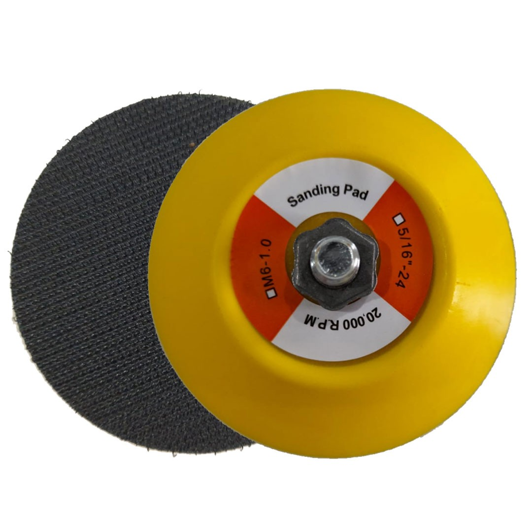 Suporte Disco Prato de Borracha Com Velcro 3