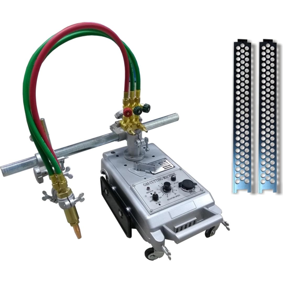 Maquina de De Corte Tartaruga Oxicorte Oximig OX245 com 2 Trilhos 1,80mt