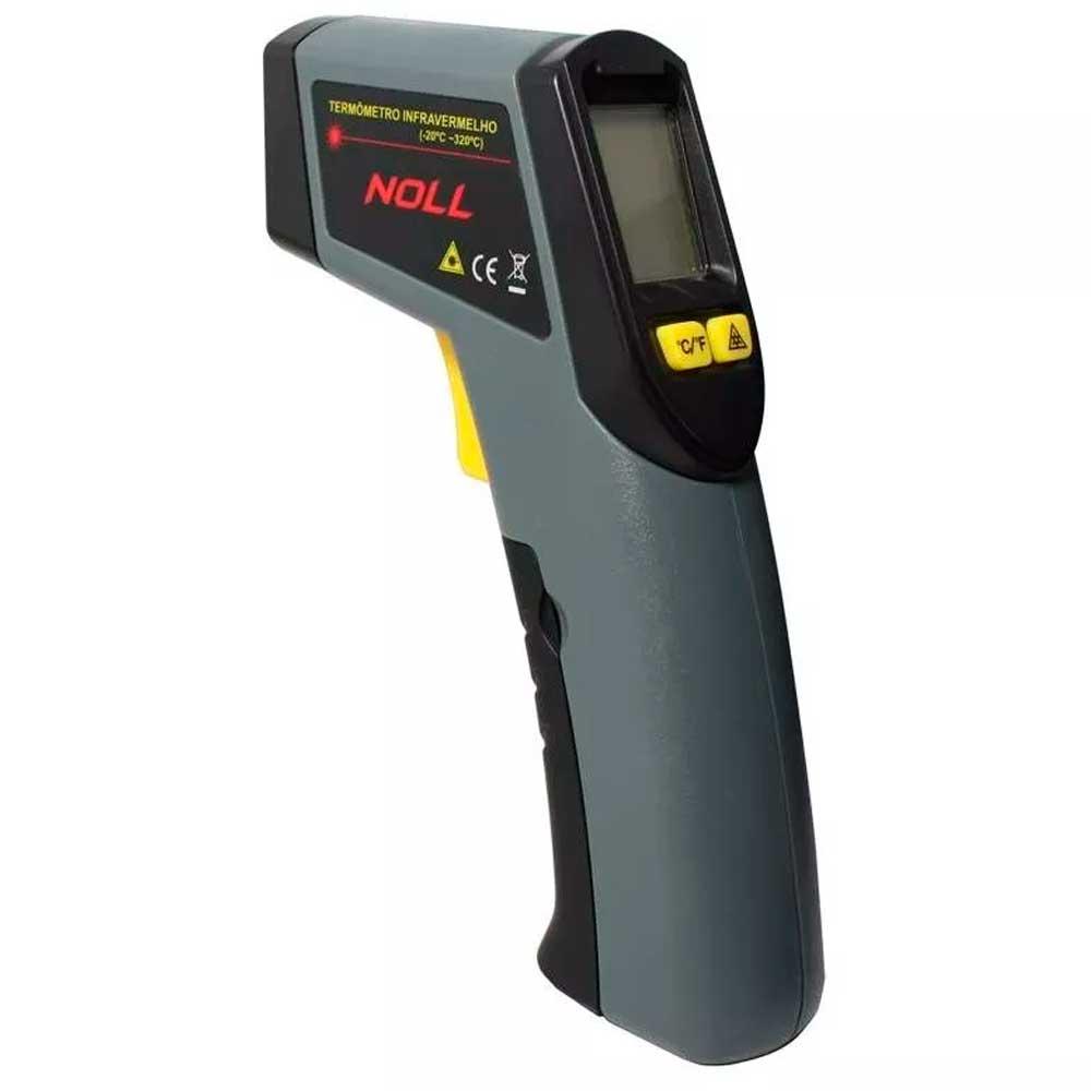 Termômetro Infravermelho Com Mira a Laser -20º a 320º C da Noll - 151,0001