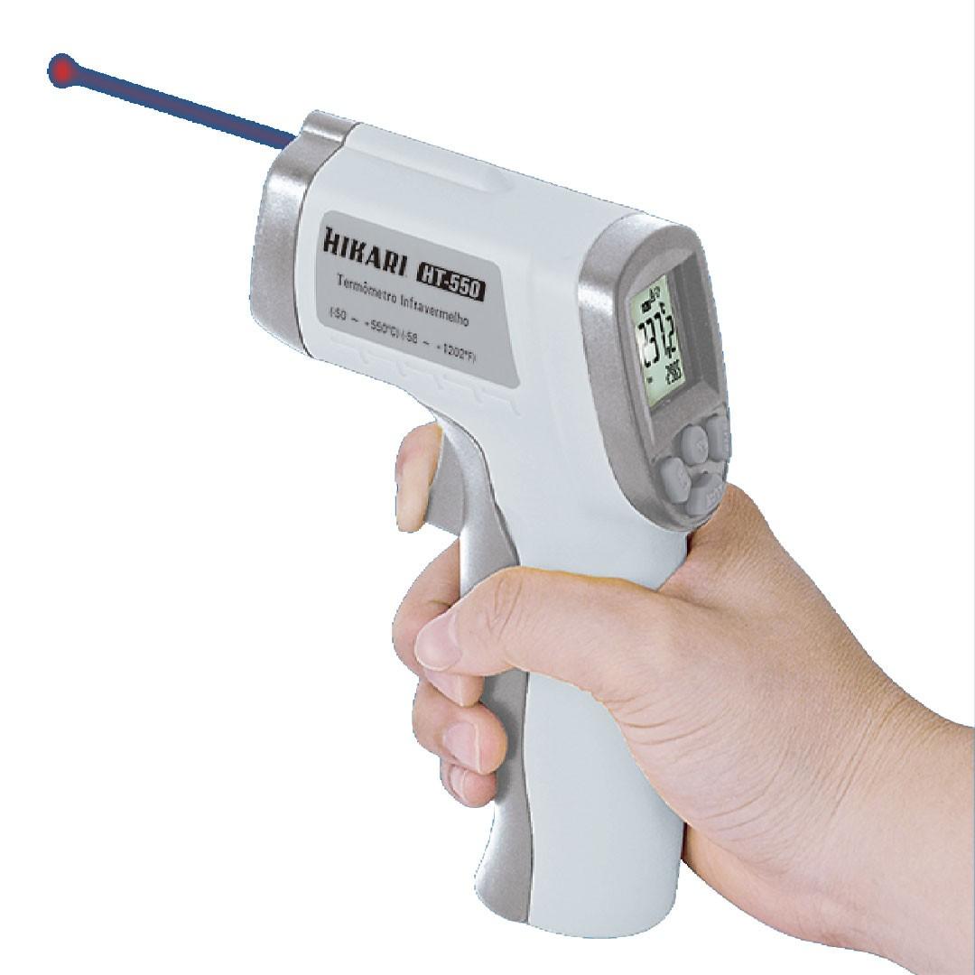 Termômetro Infravermelho Digital HT-550 HIKARI 21N255