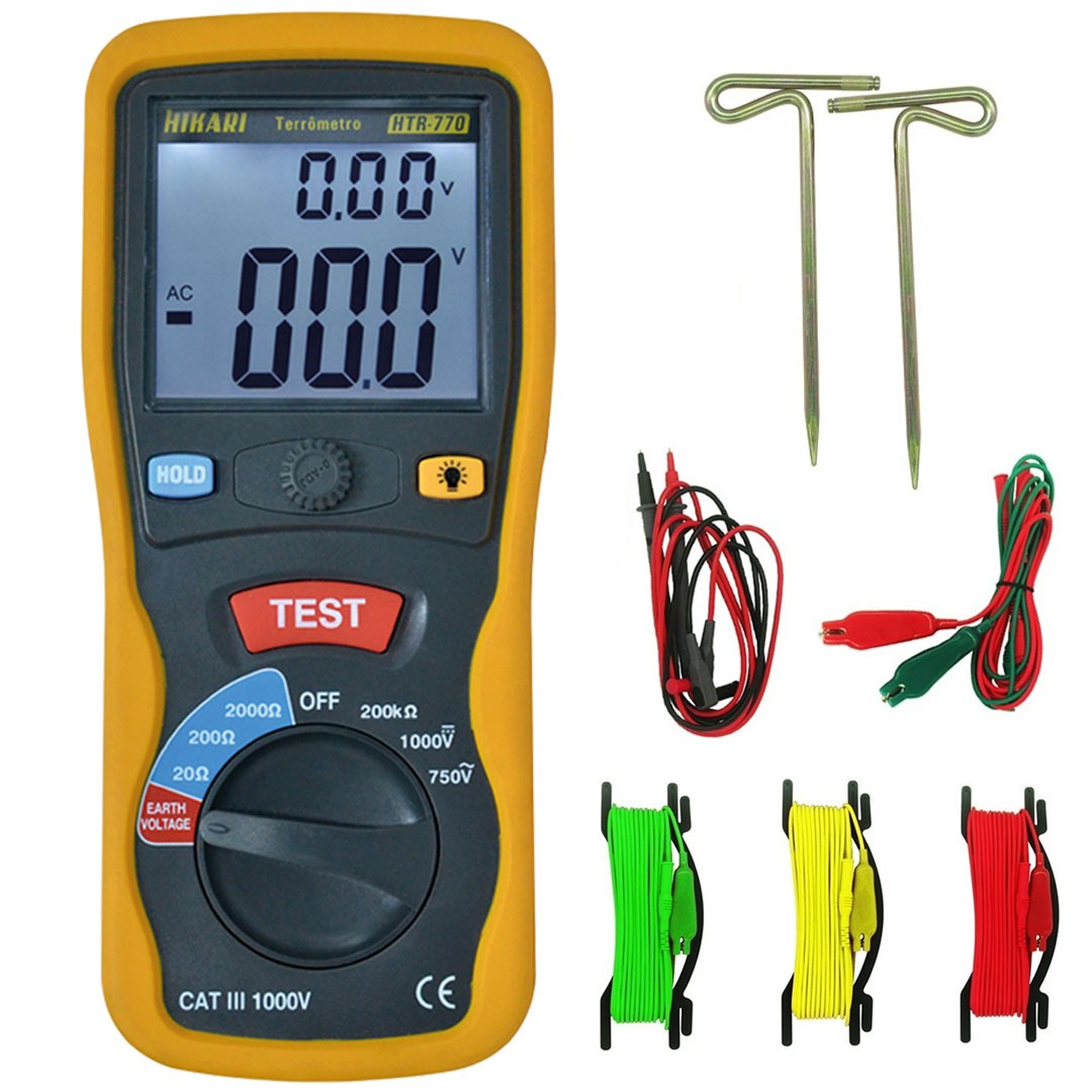 Terrômetro Digital Portátil HTR-770 HIKARI 21N073