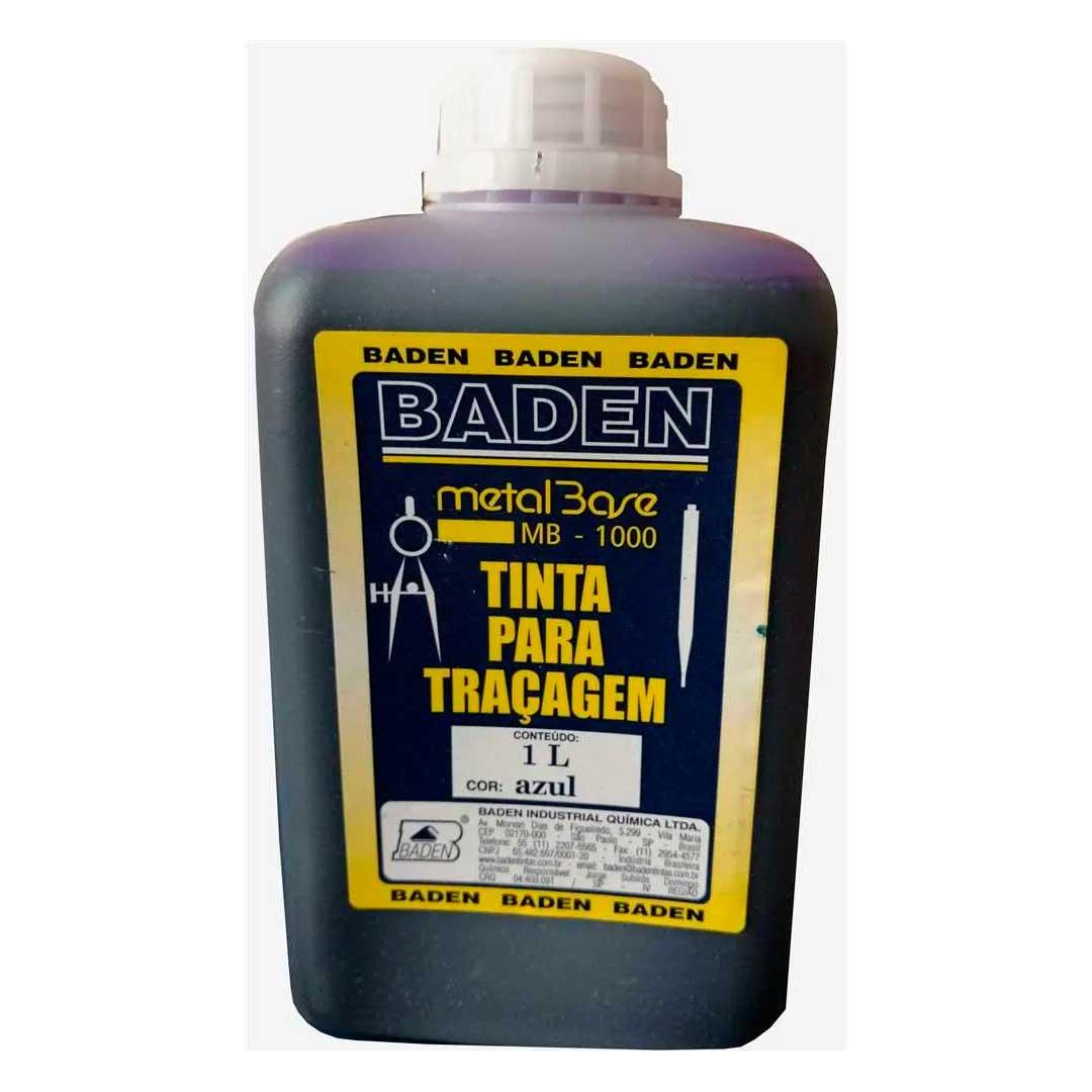 Tinta P/ Tracagem 1l Azul Baden B1-1-27