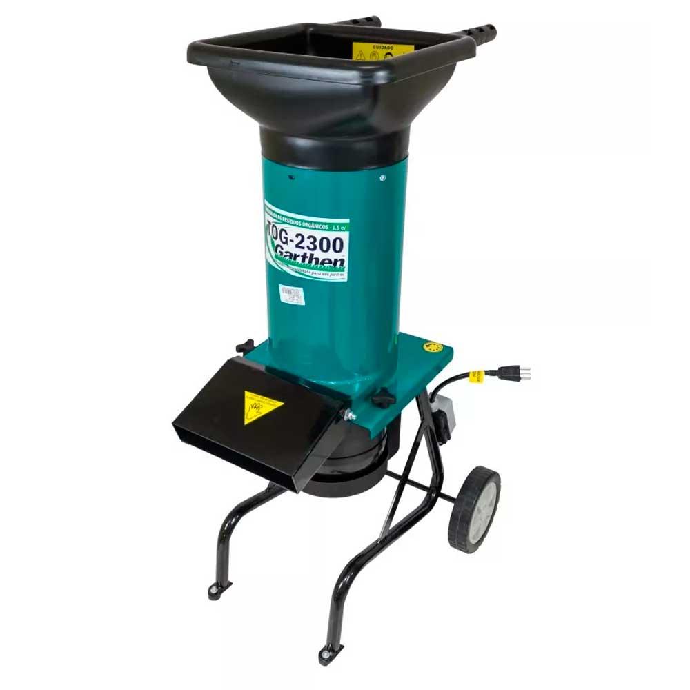 Triturador de resíduos orgânicos elétrico motor de 1,5 cv - TOG-2300