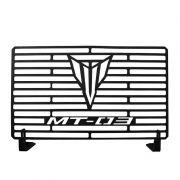 Protetor de Radiador Aço Carbono MT03 MT 03 2017 2018 Com ABS