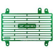 Protetor de Radiador Aluminium Evolution Kawasaki Z300 Z 300 15 16 17