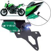 Suporte de Placa Articulado Z 750 2008/2012