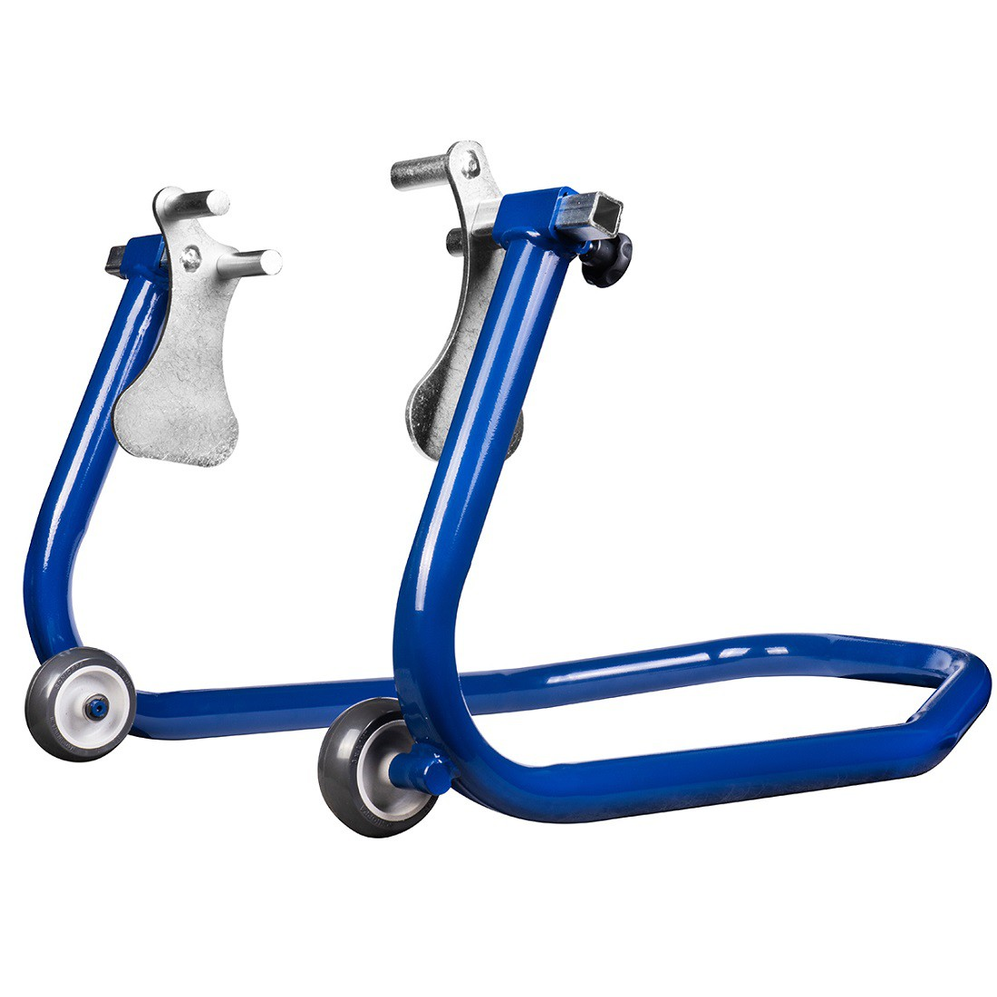 Cavalete Dianteiro Para Moto Evolution Racing Com Regulador de Bengala Azul