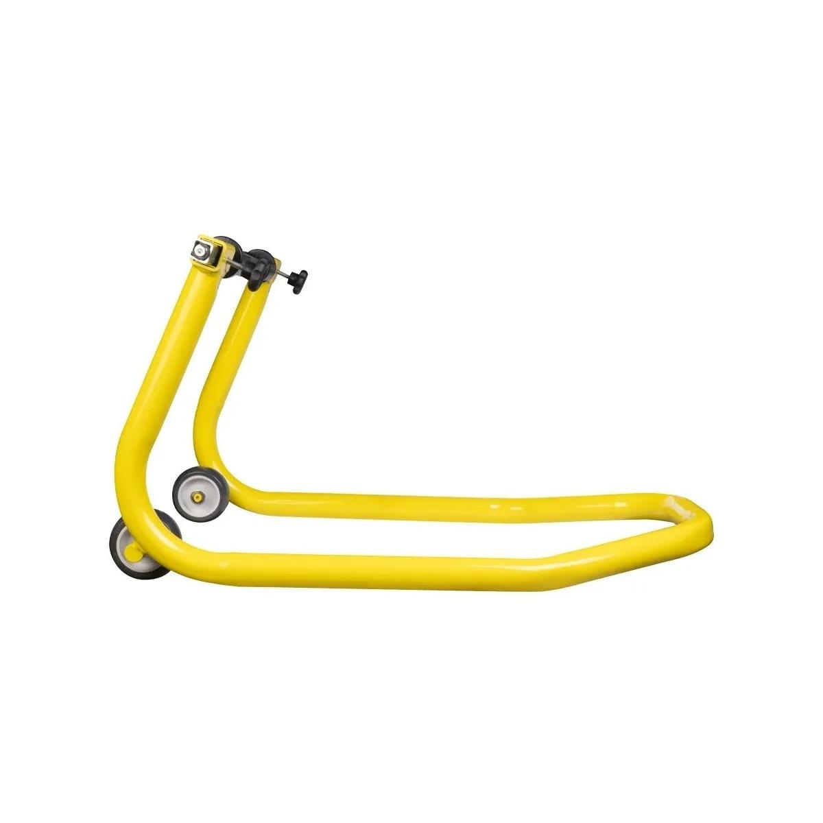 Cavalete Traseiro Evolution Universal Motos Com Ou Sem Slider Amarelo