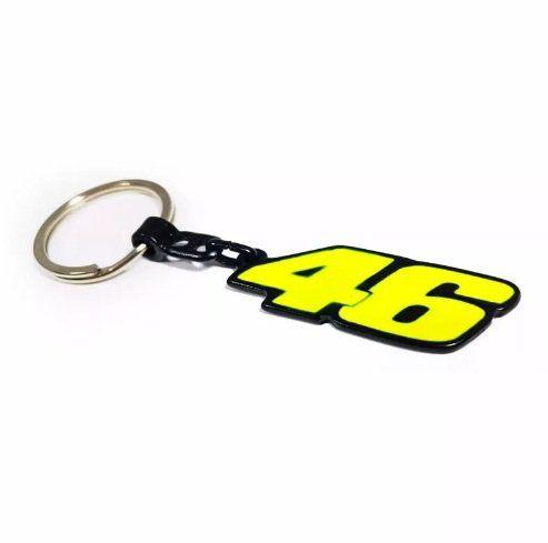 Chaveiro Metal Personalizado 46 Valentino Rossi
