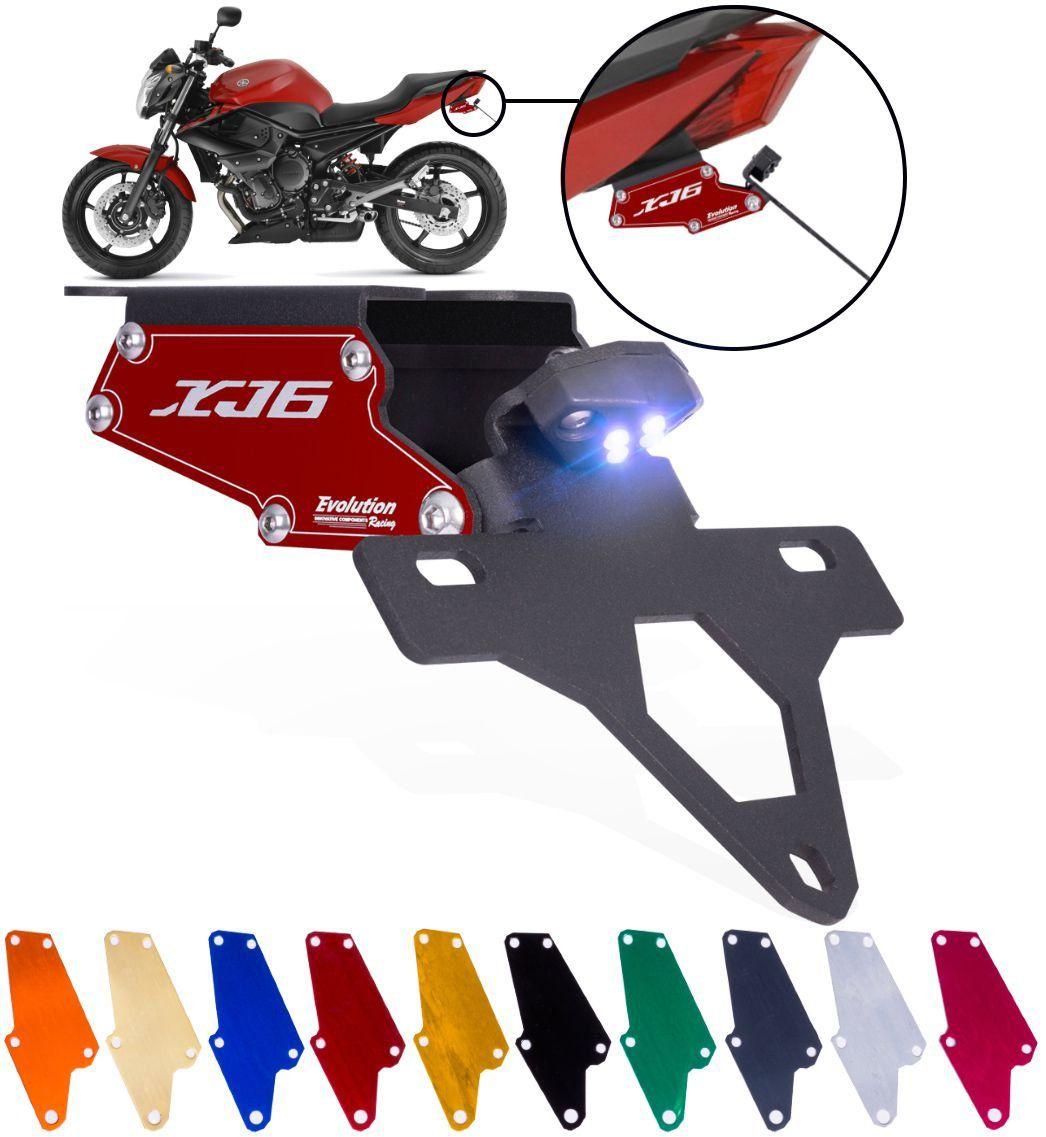 Eliminador de Rabeta e Suporte Placa Yamaha XJ6N XJ6 N Todas
