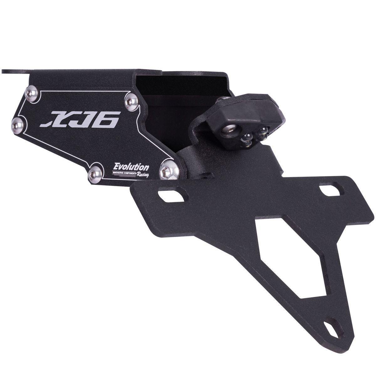 Eliminador de Rabeta e Suporte Placa Yamaha XJ6F XJ6 F 10 a 20