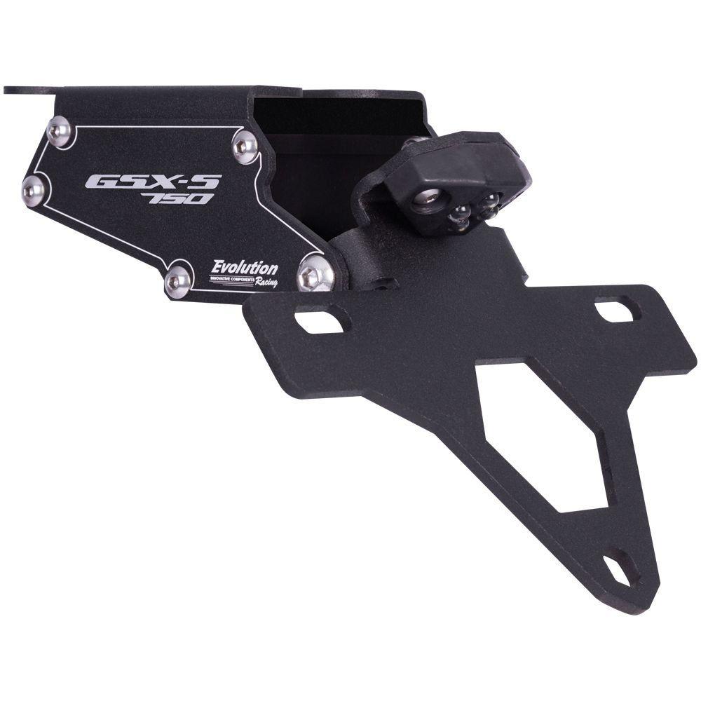 Eliminador Rabeta Suporte Placa GSX S750 GSXS750 17 18 19 20