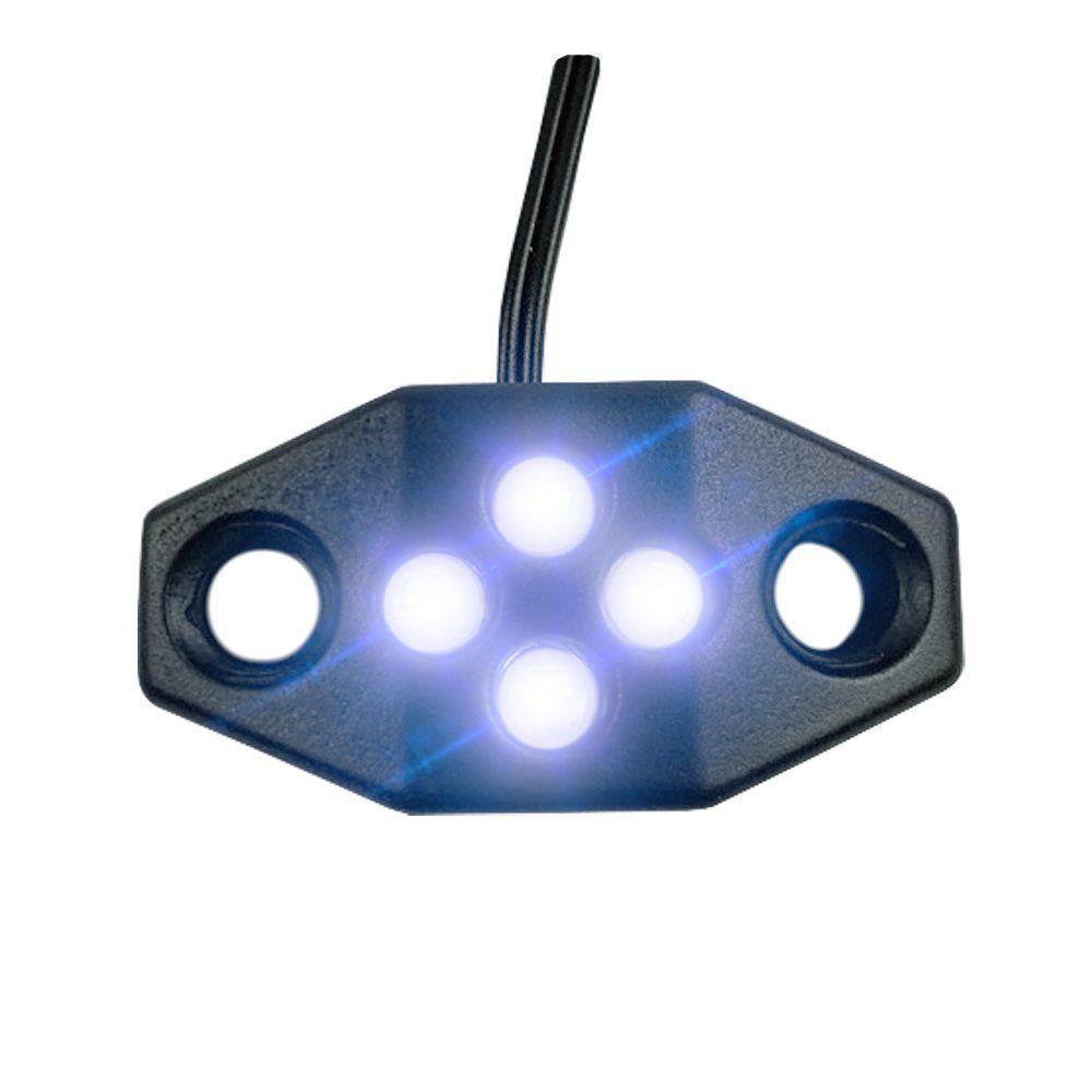 Luz De Placa Leds Universal Para Moto Placa Grande e Pequena