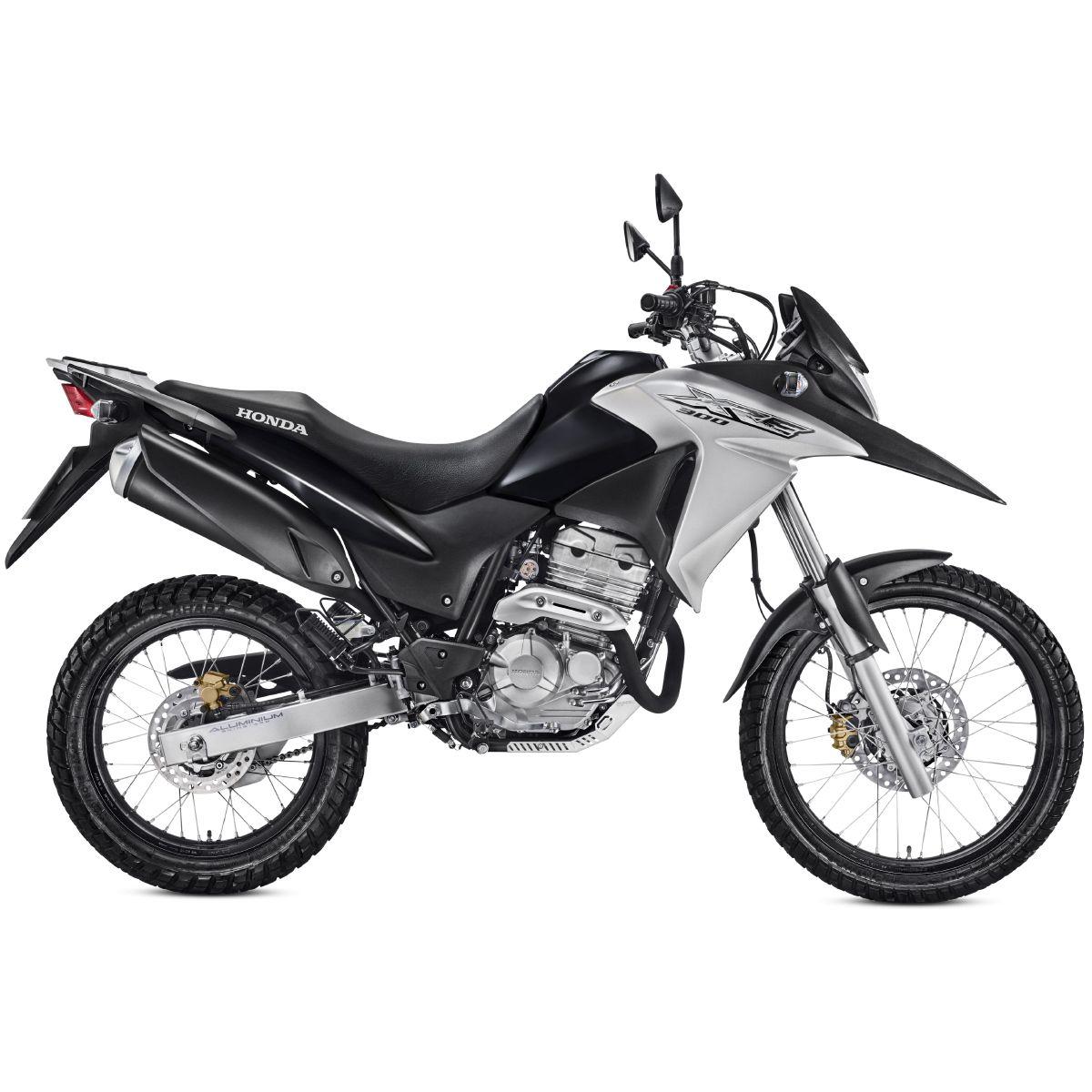 Protetor de Carter aço Inox Honda XRE 300 XRE300 2010 a 2019