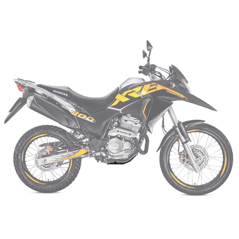 Protetor de Carter Honda XRE 300 XRE300 2010 a 2020