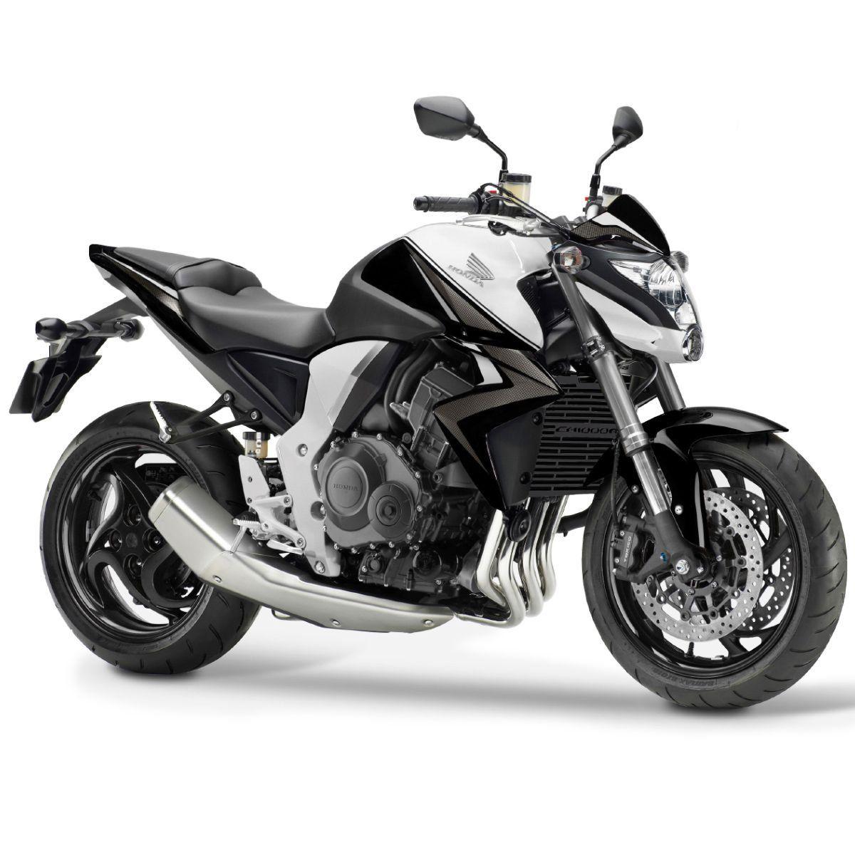 Protetor de Radiador Aço Carbono Honda CB1000R CB1000 R 2012 2013 2014 2015 2016 2017 2018