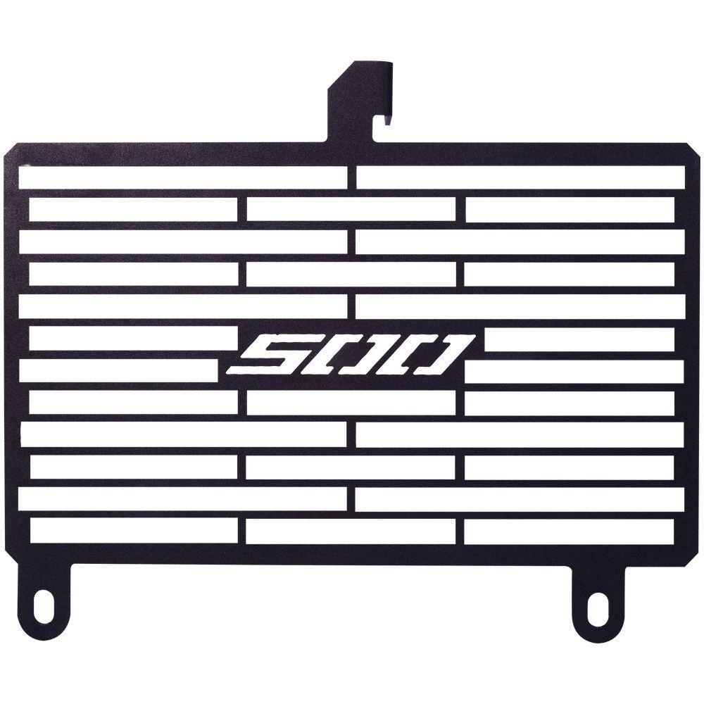 Protetor de Radiador Aço Carbono Honda CBR500 R CBR500R 2016 2017 2018 2019 2020
