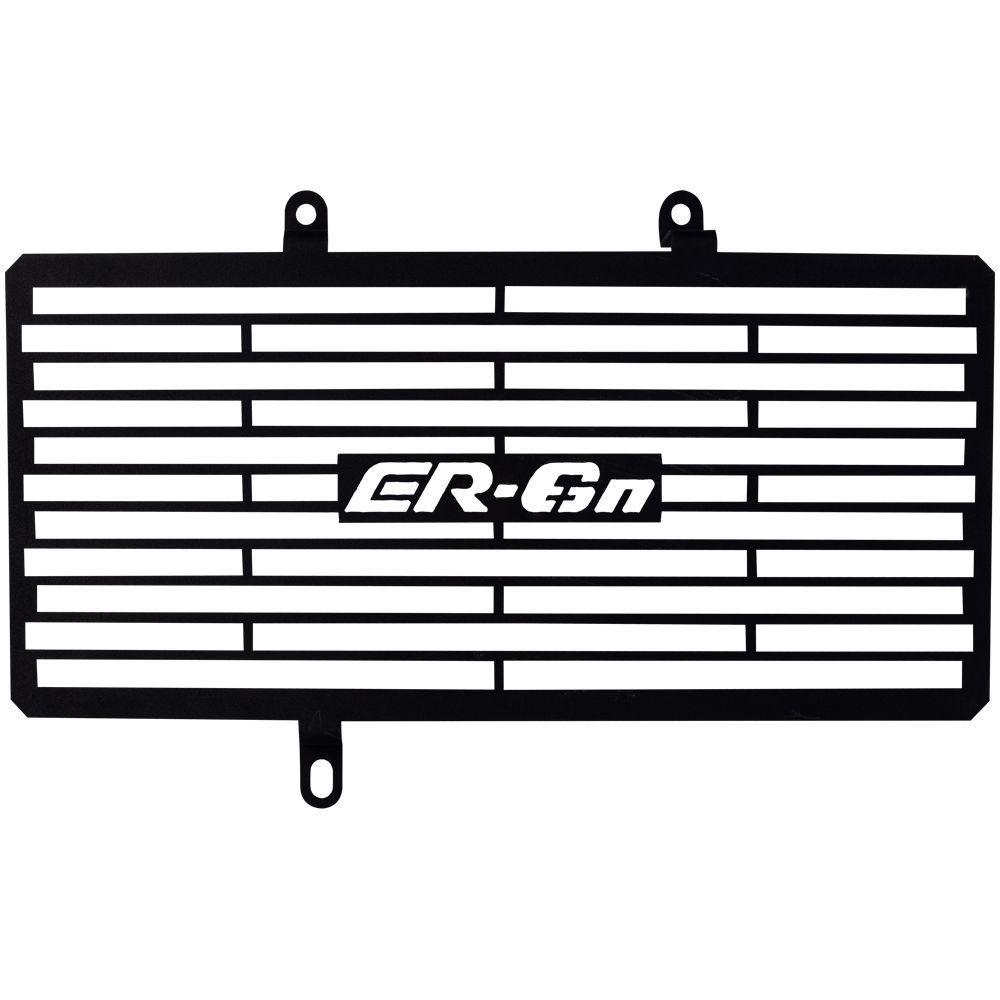 Protetor de Radiador Aço Carbono Kawasaki ER 6n ER6n ER6 N