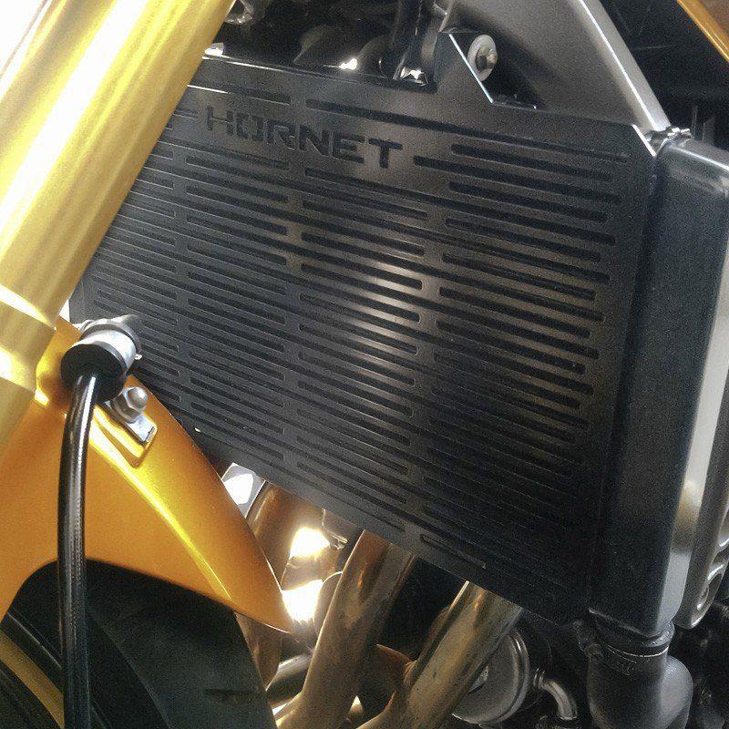 Protetor de Radiador Hornet 2008 2009 2010 2011 2012 2013 2014 Tela de Proteção Hornet Aço Carbono
