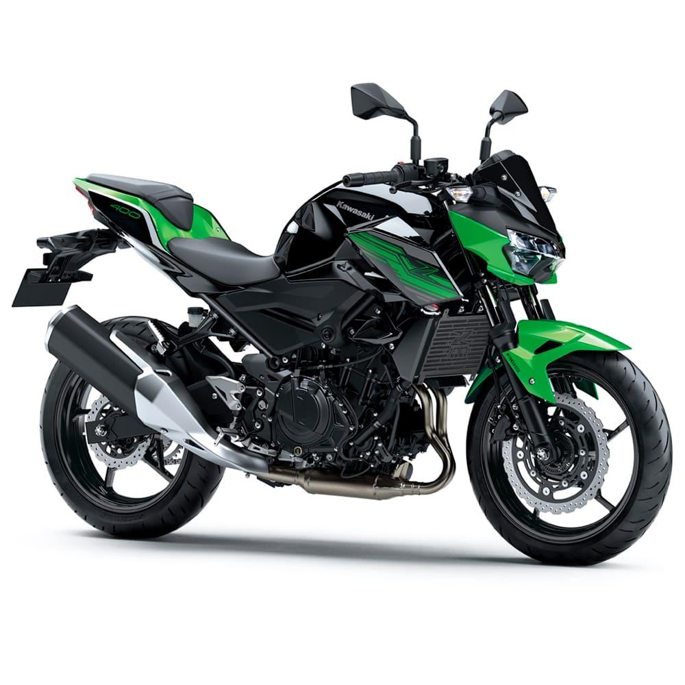 Protetor de Radiador Aço Carbono Kawasaki Z400 Z 400 2019 2020