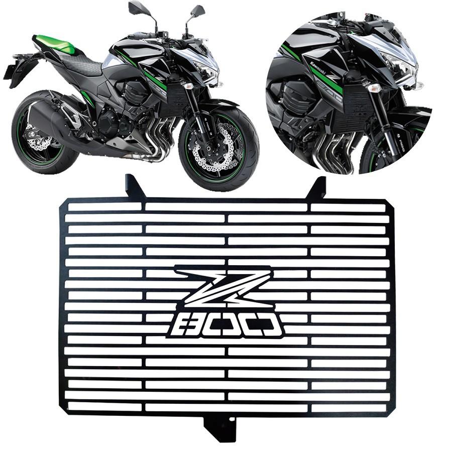 Protetor de Radiador Aço Carbono Kawasaki Z800 Z 800 2013 2014 2015 2016 2017 2018 2019 2020