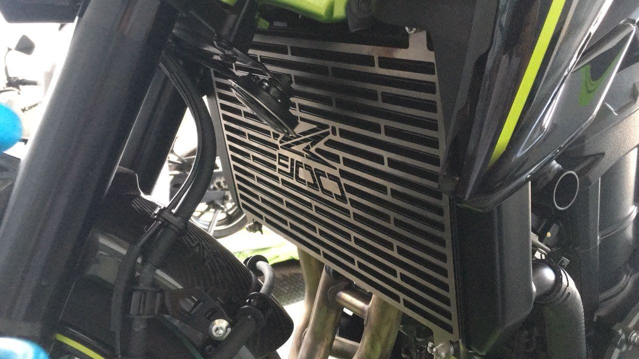 Protetor de Radiador Aço Carbono Kawasaki Z900 2018