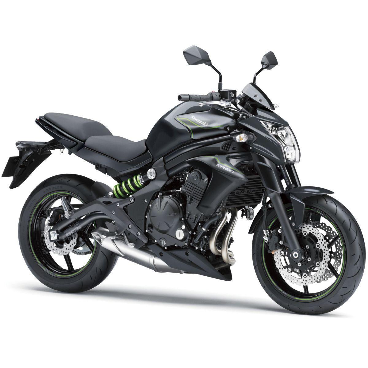 Protetor De Radiador Aço Carbono Motos Kawasaki Er-6n