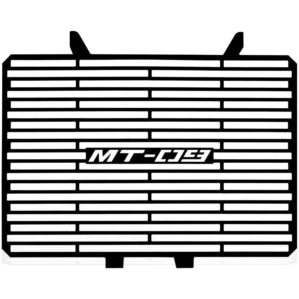 Protetor de Radiador Aço Carbono MT09 MT 09 15 16 17