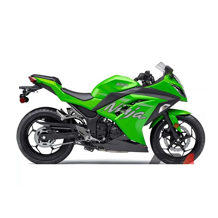 Protetor de Radiador Kawasaki Ninja 300 R 2013 2014 2015 2016 2017 2018 Aço Carbono
