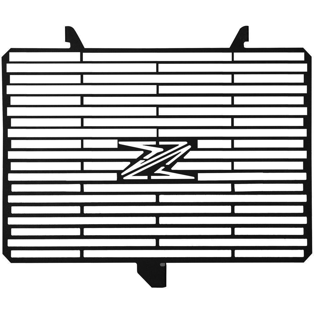 Protetor de Radiador Aço Carbono Z1000 Z 1000 11 18