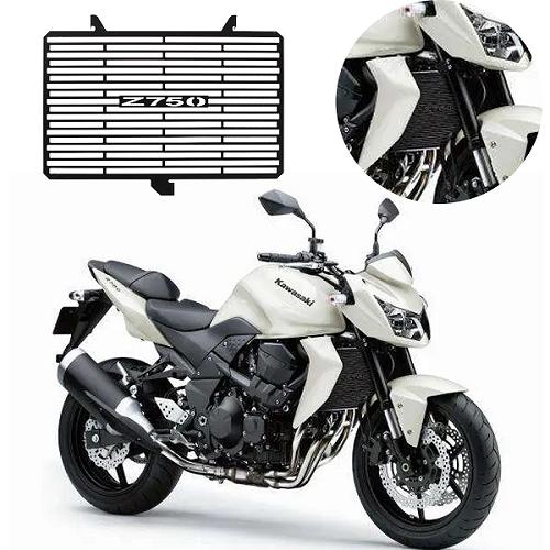Protetor de Radiador Kawasaki Z750 Z 750 2008 2009 2010 2011 2012 Aço Carbono