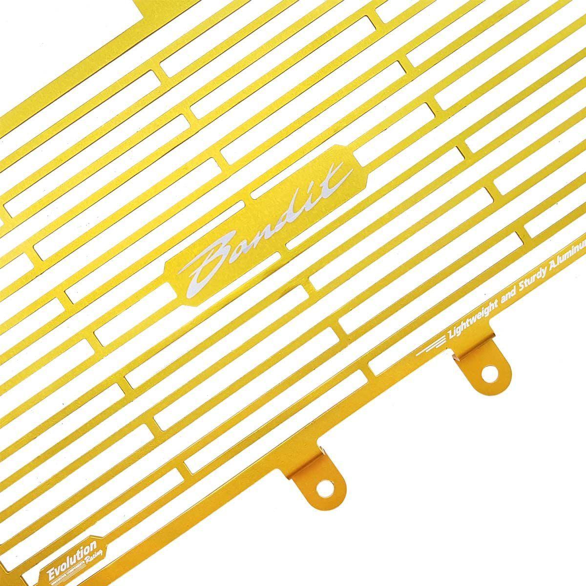 Protetor de Radiador Aluminium Evolution Bandit 650
