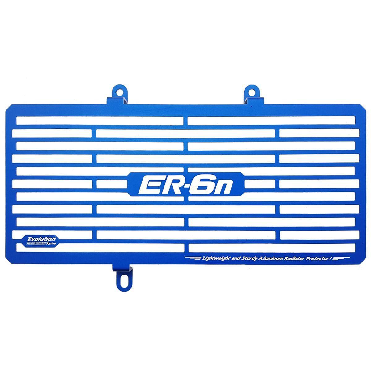 Protetor de Radiador Aluminium Evolution Kawasaki ER6N ER6 N 13 16