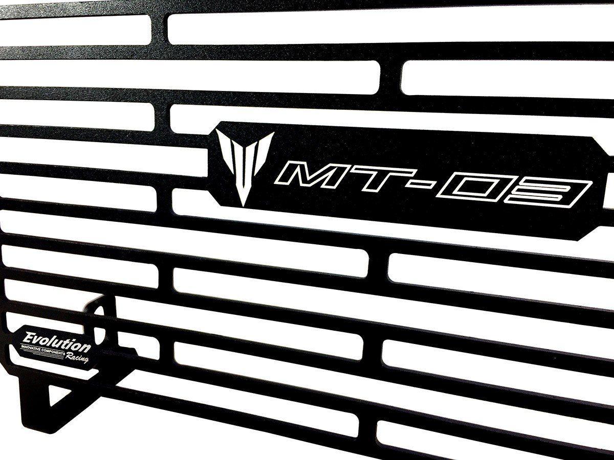 Protetor de Radiador Aluminium Evolution Yamaha MT03 MT 03 2015 2018