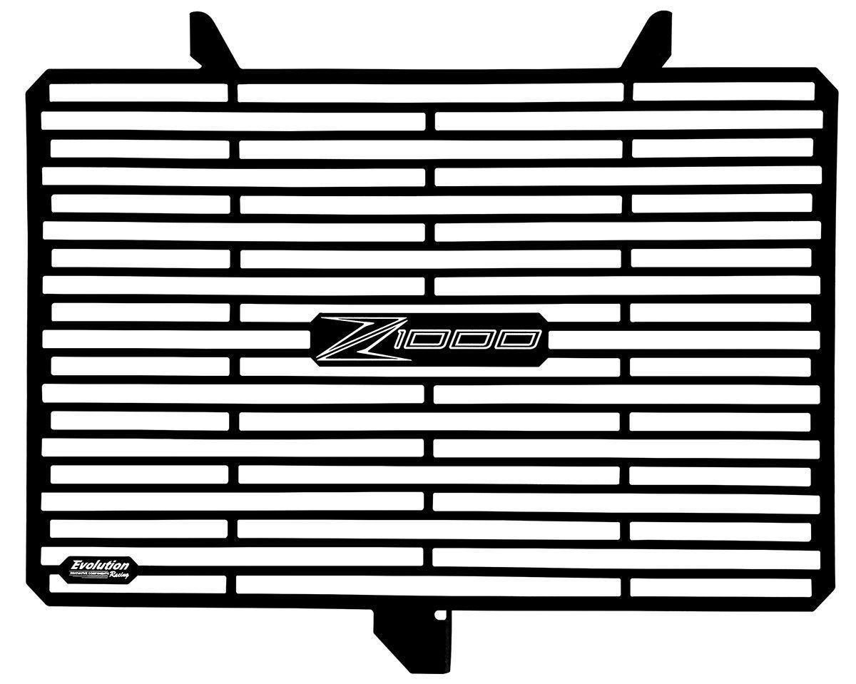 Protetor de Radiador Aluminium Evolution Kawasaki Z1000 Z 1000 11 17