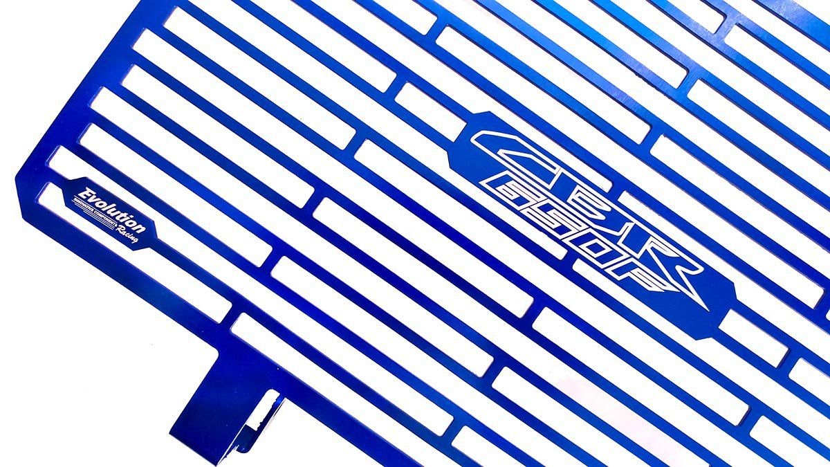 Protetor Radiador Aluminium Evolution CB650 F CB650F 2015 2017