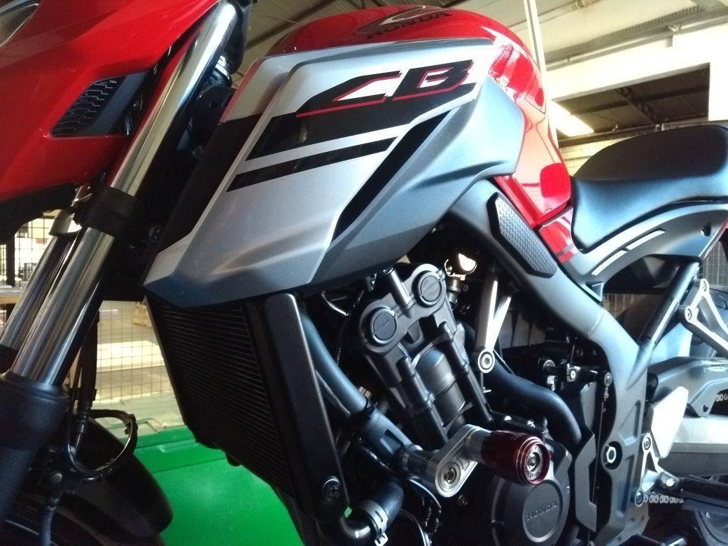 Slider Dianteiro Evolution Honda CB650F CB650 F 2018