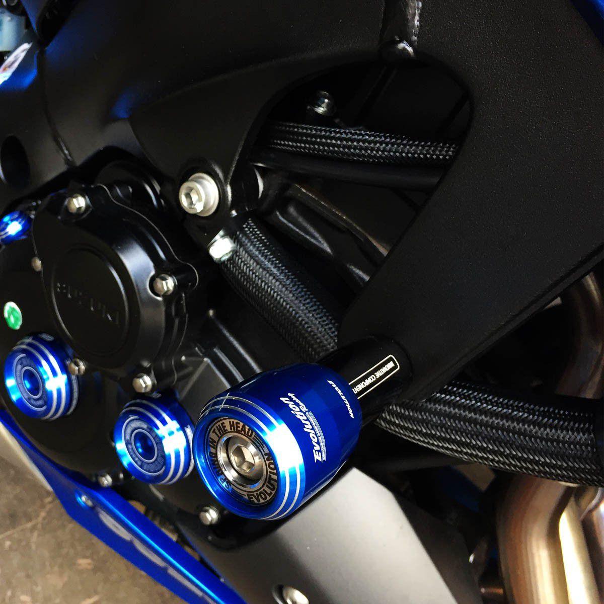 Slider Dianteiro Evolution Yamaha YZF R3 2015 á 2016