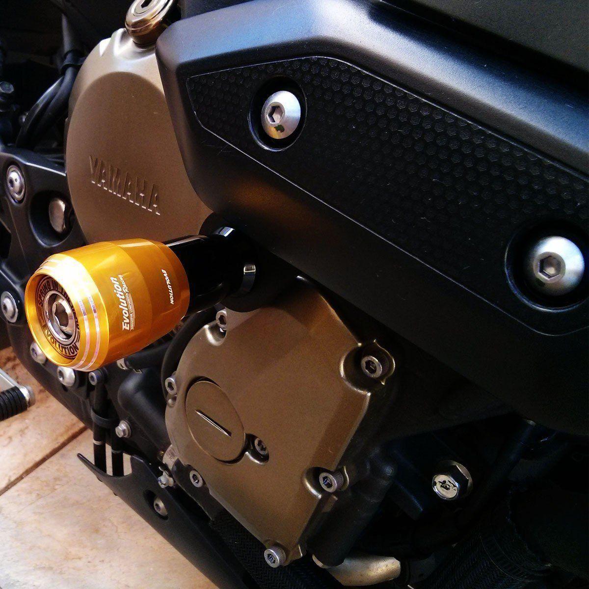 Slider Moto Dianteiro Evolution Gsx S750 Gsxs 750 17 18 19