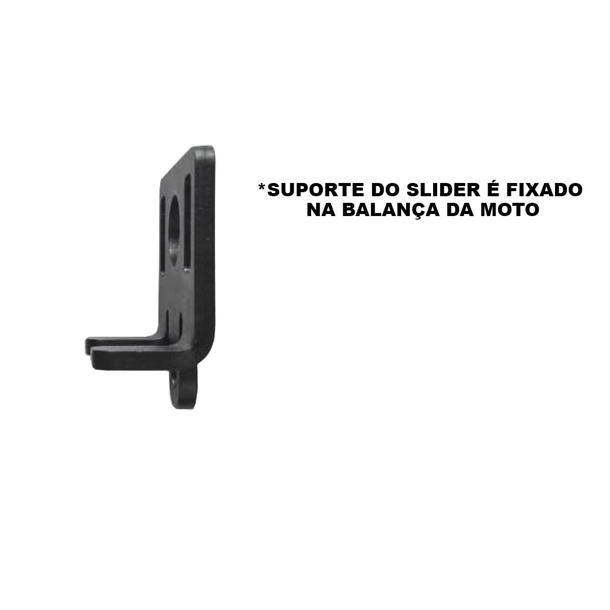 Slider traseiro fazer 150 2013 2014 2015 2016 2017 2018 balança yamaha gp2 edition