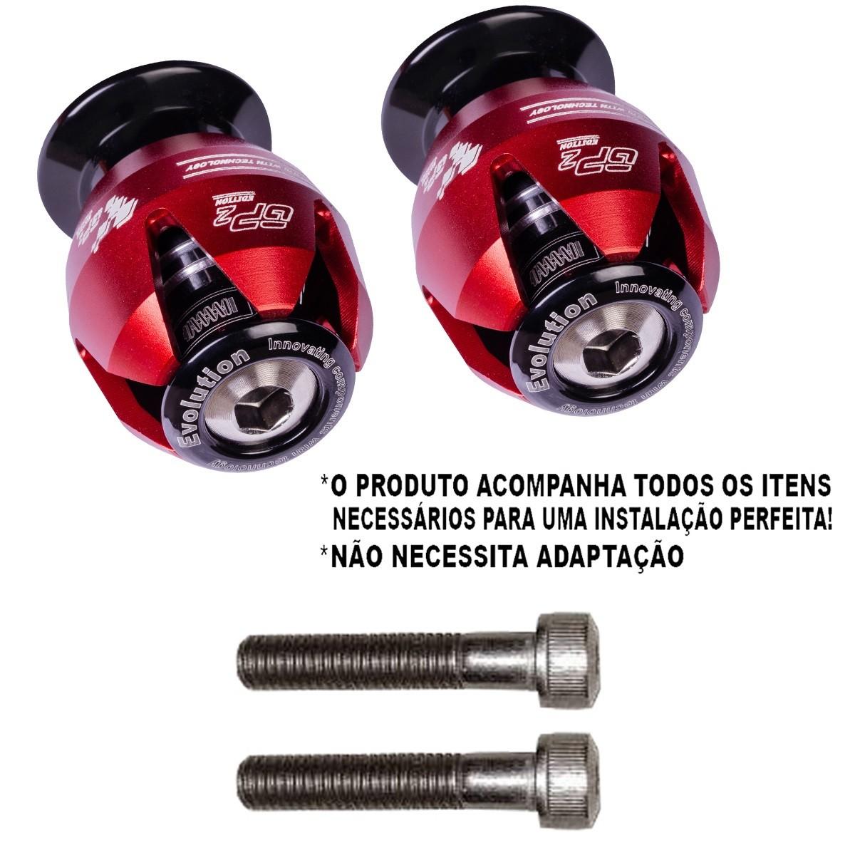 Slider traseiro s1000r 2012 2013 2014 2015 balança bmw gp2 edition