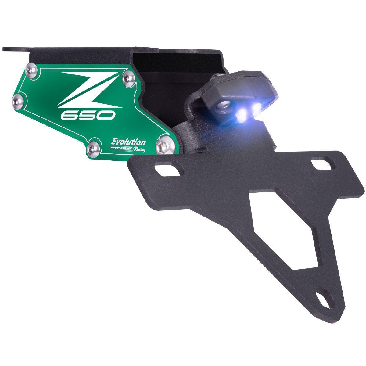 Suporte de Placa Eliminador de Rabeta Articulado Z650 Z 650