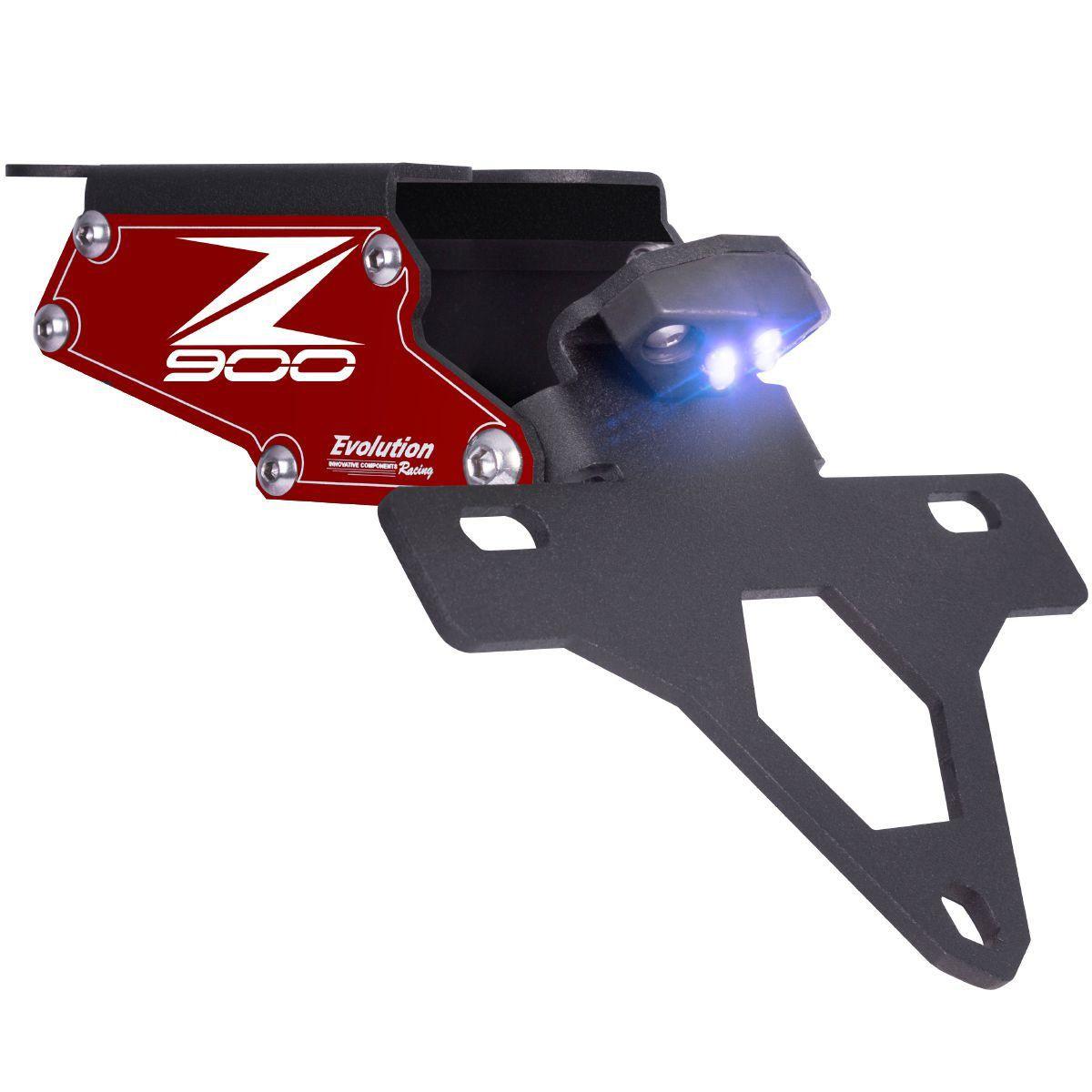Suporte de Placa Eliminador de Rabeta Articulado Z900 Z 900