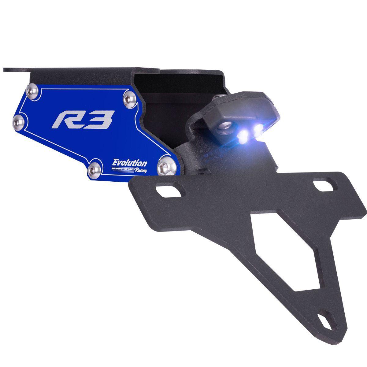 Suporte Eliminador De Rabeta Placa Yamaha R3 2015 2016 2017