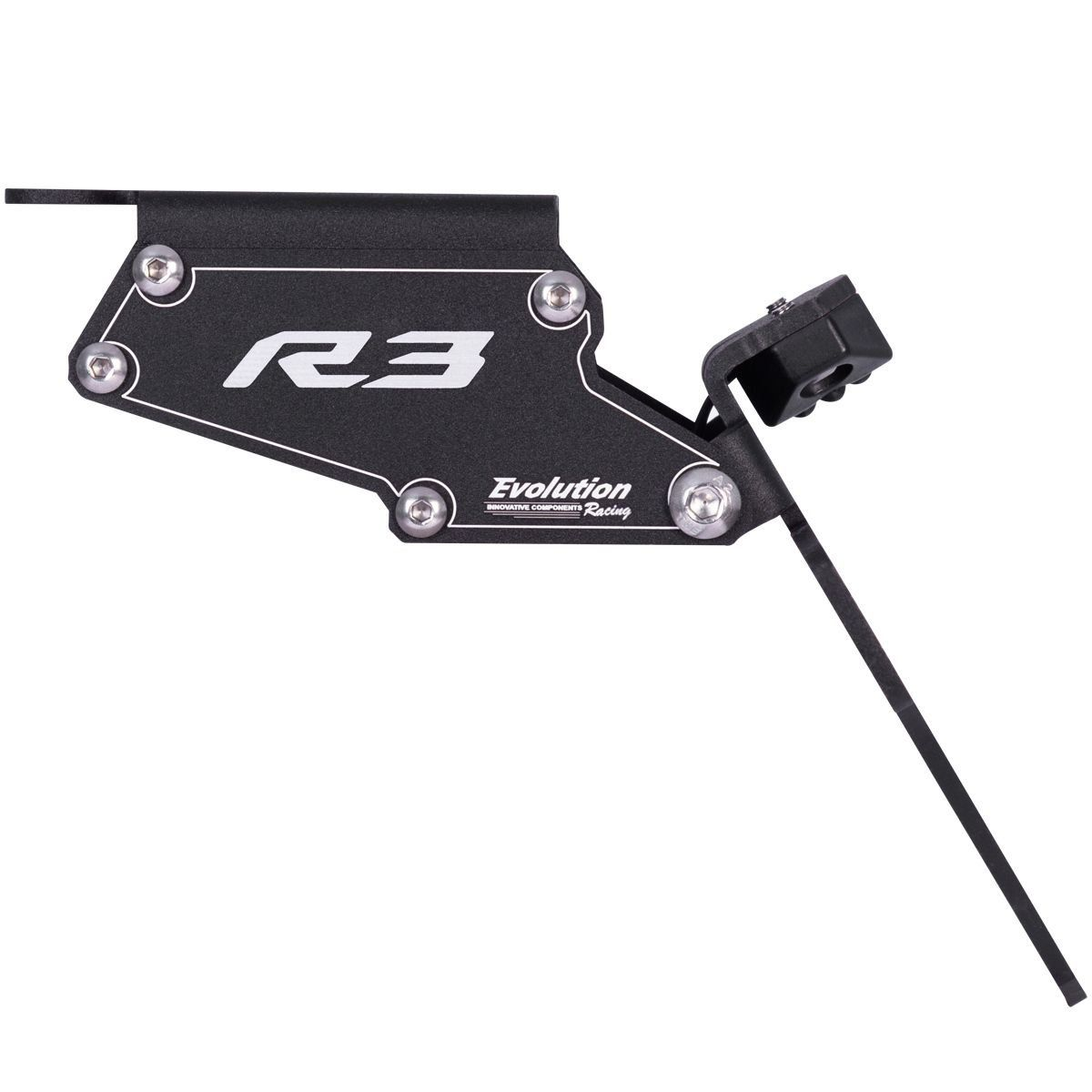 Suporte Eliminador De Rabeta Placa Yamaha R3 15 16 17 2017