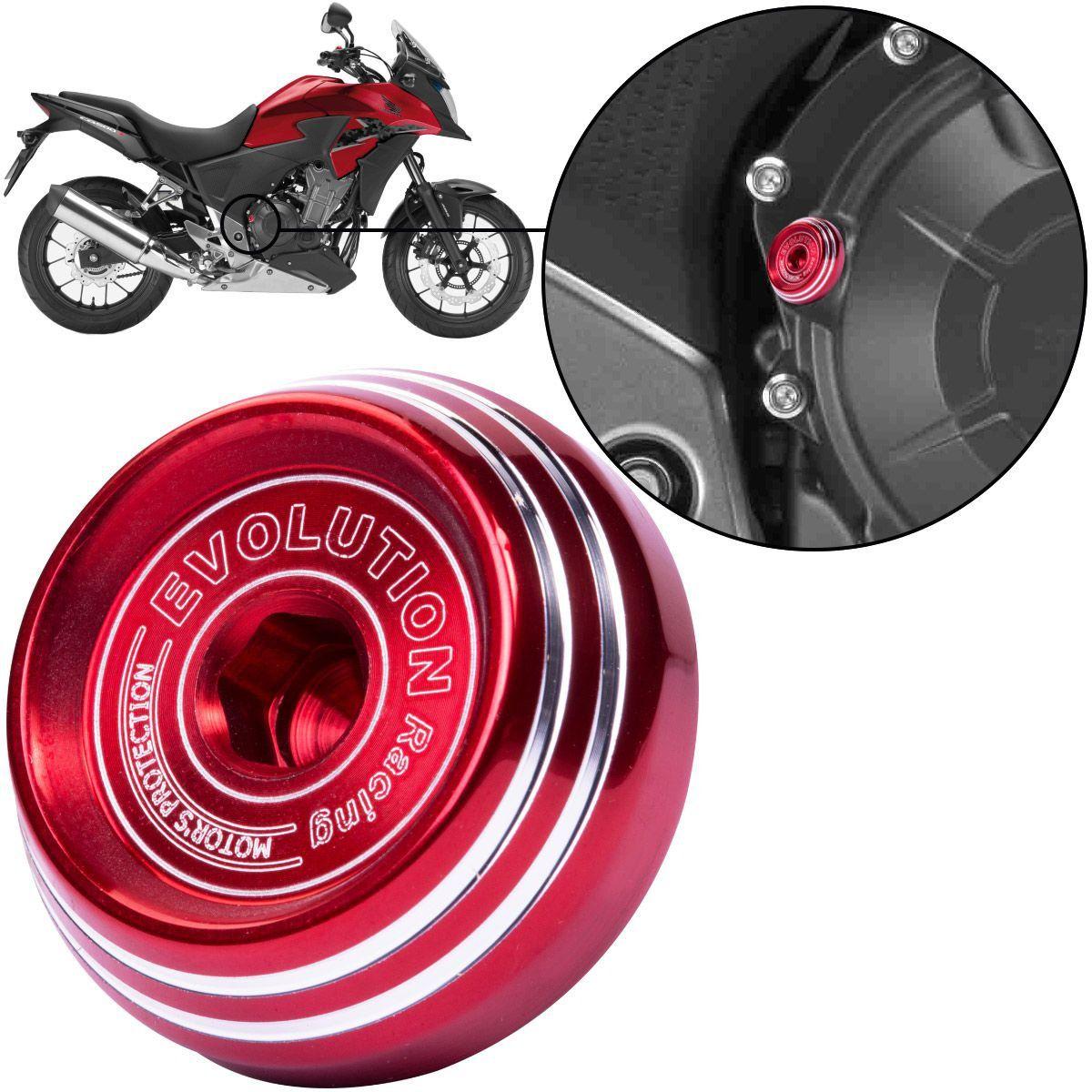 Tampa de Óleo Evolution Esportiva Honda CB500X CB500 X Todas