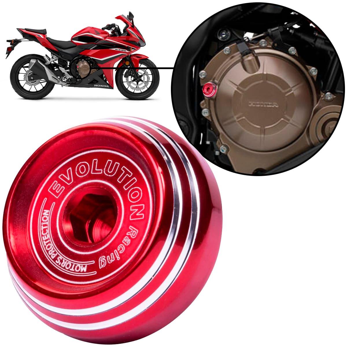 Tampa de Óleo Evolution Esportiva Honda CBR500R CBR 500 R Todas