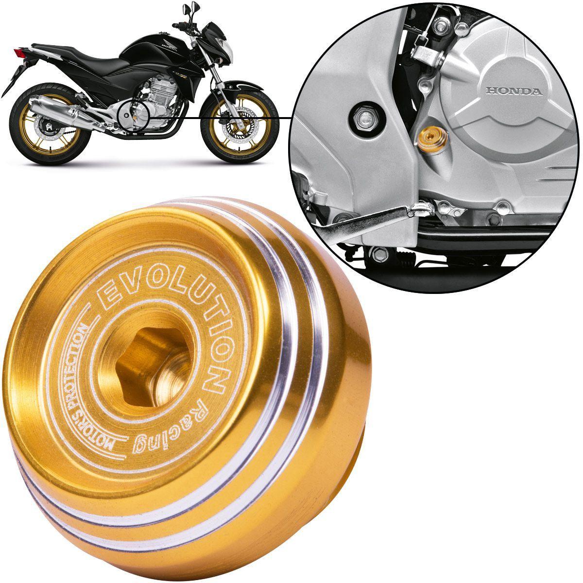 Tampa de Óleo Evolution Esportiva Moto Honda CB300 CB300R